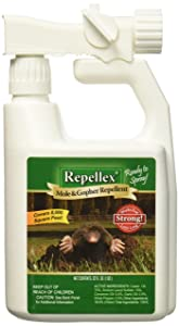 Repellex 10505 1-Quart RTS Mole, Vole and Gopher Repellent