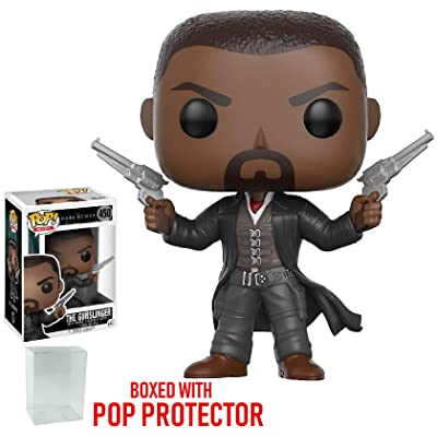 Funko Pop! Movies: The Dark Tower - The Gunslinger Vinyl Figure (Bundled with Pop BOX PROTECTOR CASE): Toys & Games