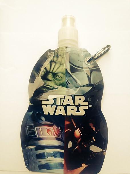 Disney Star Wars Draw String Bag Drinks Bottle Kids School Lunch