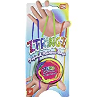 ZTringz 4752 Jeu de filaments avec Jeu de Doigts Multicolore