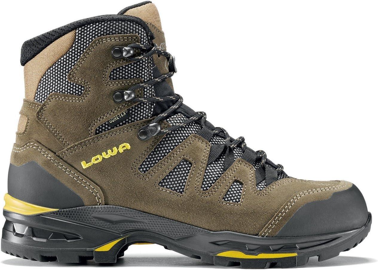 Lowa Khumbu II GORE-TEX Men/'s Asphalt//Orange Walking Boots UK 8.5