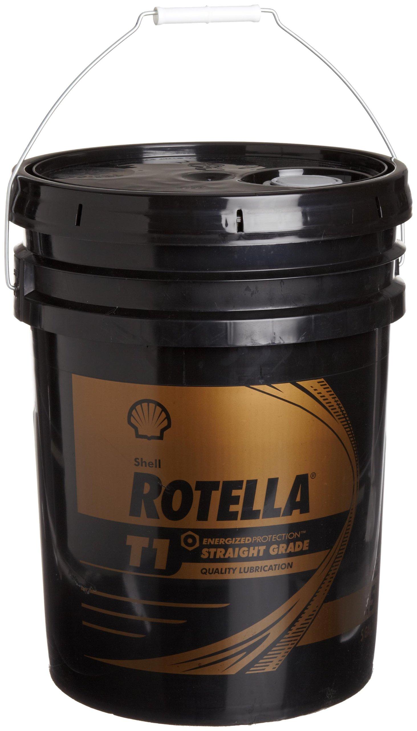 Shell ROTELLA 550019893 T1 50 Heavy Duty Engine Diesel Oil - 5 Gallon Pail