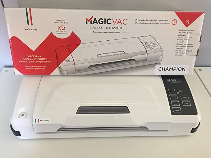 Macchina professionale  per il sottovuoto Grigio Magic Vac Maxima 2