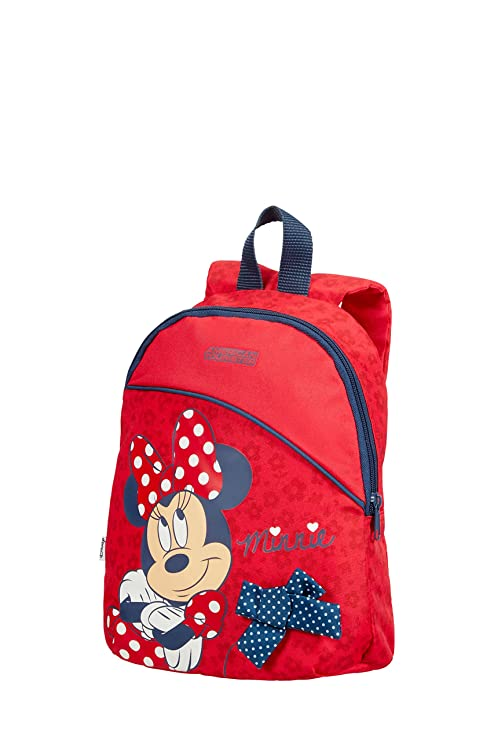American Tourister New Wonder - Backpack Small Disney Mochila Infantil, 28 cm, 7 Liters, (Minnie Bow)