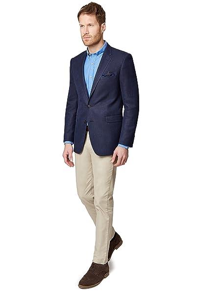 8cf29d5eaa926 Ermenegildo Zegna Cloth - Giacca da abito - Uomo Blue 54 Corto  Amazon.it   Abbigliamento
