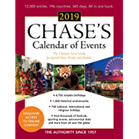 Chase's Calendar of Events 2019: The Ultimate Go-to Guide for Special Days, Weeks and Months