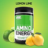 Optimum Nutrition Amino Energy Pre Workout & Essential Amino Acids Powder with Tea/Coffee Extract (30-Servings; Lemon Lime)