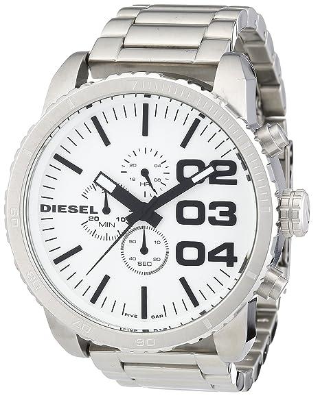 b4cbb03101e7 Diesel DZ4219 - Reloj cronógrafo de cuarzo para hombre con correa de metal
