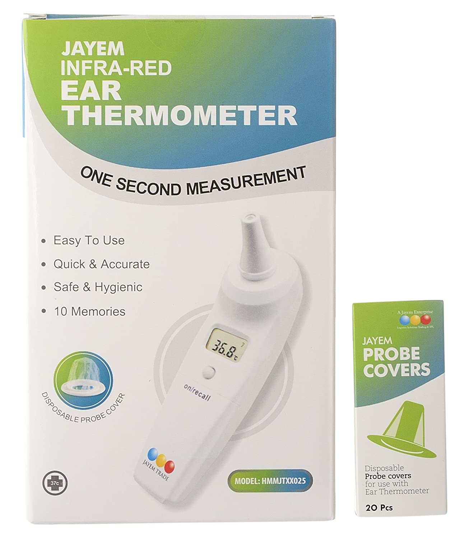 Jayem HHMJTXX025 Infra Red Ear Thermometer