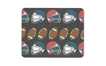 Cool alfombrilla para ratón Pad – NFL estilo balón de fútbol americano casco pc ordenador #