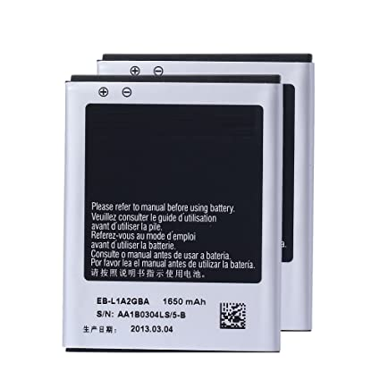 amazon com powerfull tech 2 pcs genuine battery eb l1a2gba eb rh amazon com Samsung Galaxy Note 5 Samsung Galaxy Phone Owners Manual