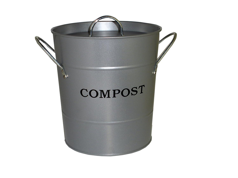 Amazon.com : Exaco CPBS 01 1-Gallon 2-in-1 Indoor Compost Bucket ...