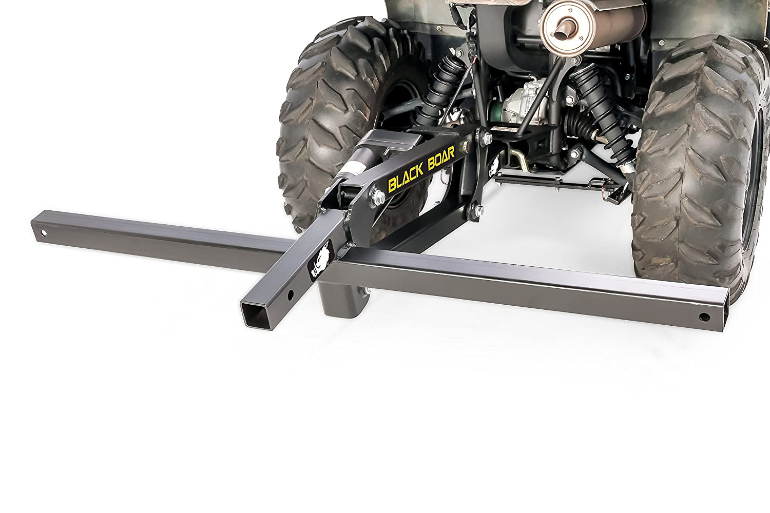 Black Boar Atv Utv Motorized Implement Lift W Warn Plow Actuator Wiring Diagram And Harnesscontrol Switchuse To Cultivateestablish Food Plot