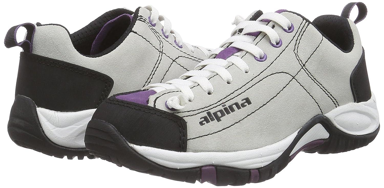 Alpina Diamond 2.0 W Pflaume 59 Gr/össe 39 White//Violet