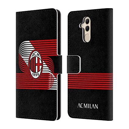 Amazon.com: Official AC Milan Diagonal 2018/19 Crest ...