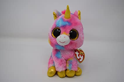 Amazon.com  Ty Beanie Boos - Fantasia Unicorn  Toys   Games 37a38277664