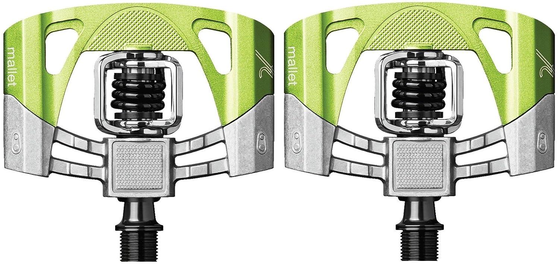 CRANK BROTHERS(クランクブラザーズ) 超軽量 ビンディングペダル マレット2 V2 B016OQXOYWグリーン