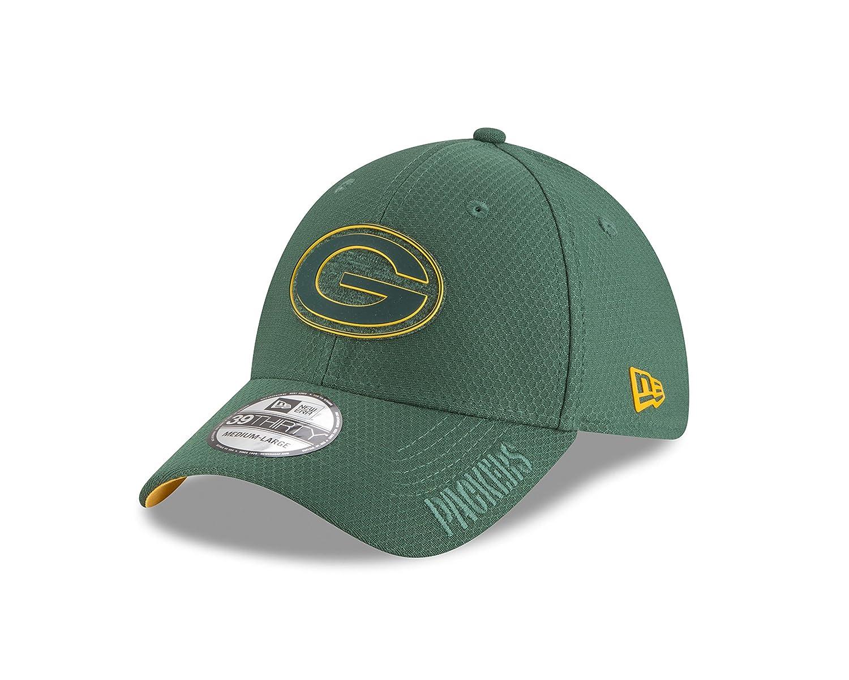 c350dc269 Amazon.com : New Era 3930 Green Bay Packers Training Onfield 2018 Flexfit  Hat (GR) NFL Cap : Sports & Outdoors
