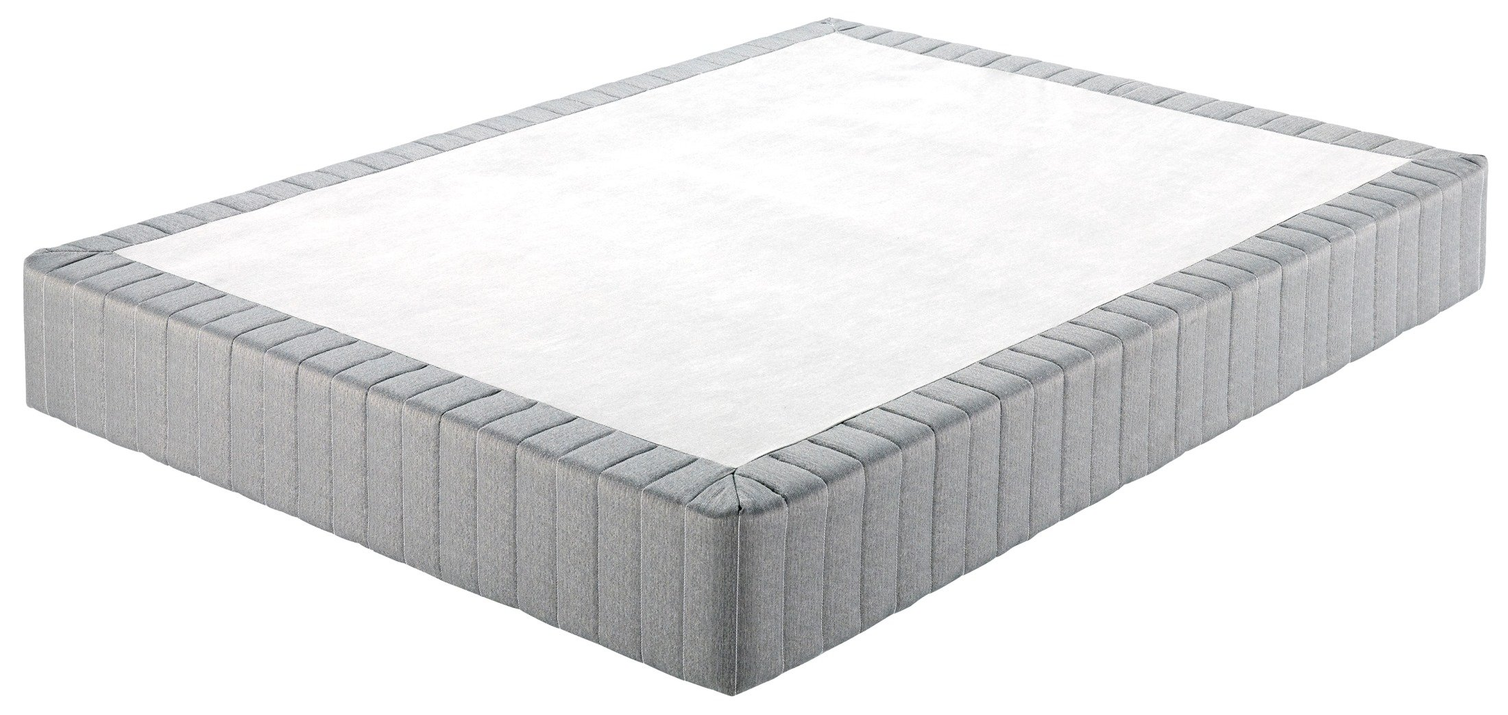 Ashley Furniture Signature Design - Ashley Sleep - Traditional Queen Size Mattress Foundation - Gray