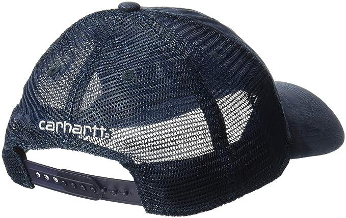 d3d8988d ... d7ce864948e Amazon.com Carhartt Men s Buffalo Sandstone Meshback Cap  Clothing ...