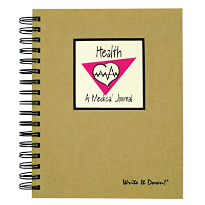 My Health, A Medical Records Journal - Kraft Hard Cover (prompts on every page, recycled paper, read more...): Toys & Games
