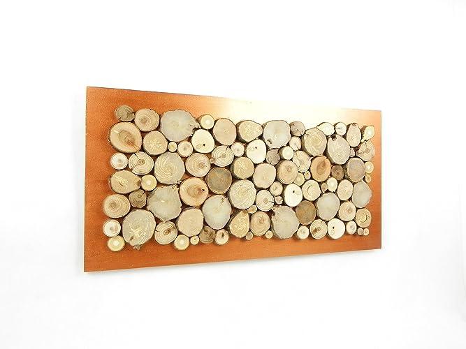 Wood wall art, wooden wall decoration, abstract table, wall art ...