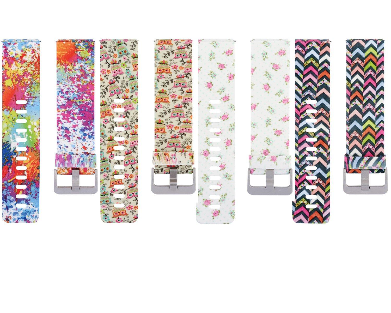 HONECUMI Fitbit Blaze アクセサリーバンドブレスレットストラップ Fitbit Blazeスマートフィットネスウォッチ用 B01HJ9C048  Pack of 4 Type 5 Small