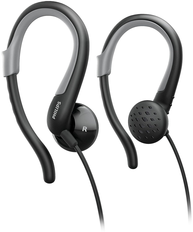 Philips SHS4900 - Auriculares Deportivos de Gancho (Almohadillas ...