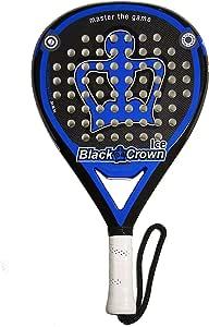 pala de padel black crown Ice: Amazon.es: Deportes y aire libre