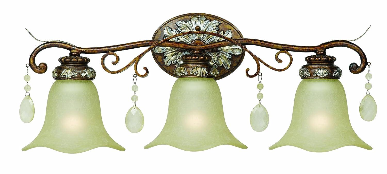 Light Oxide Bronze With Silver Bath Bar Vanity Lighting Fixtures - Bathroom light fixtures silver