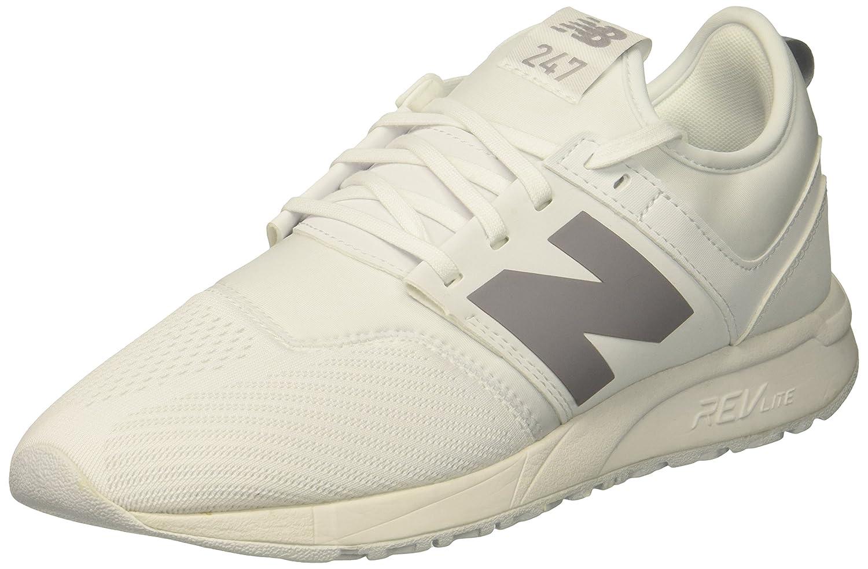 New Balance Women's 247v1 Sneaker B075R7W8S6 8.5 B(M) US|White