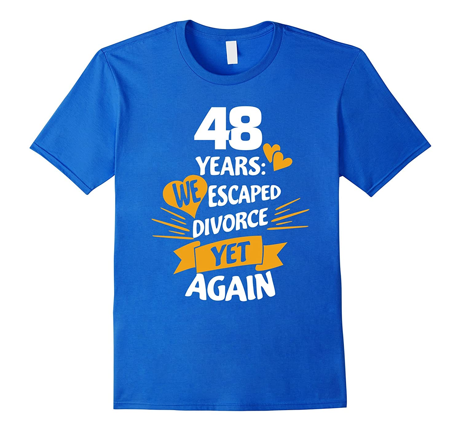 48th Wedding Anniversary Gift Ideas: Gift For 48th Wedding Anniversary To A Couple 48 Years Tee