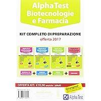 Alpha Test. Biotecnologie e farmacia. Kit completo di preparazione. Con Software di simulazione,Edizione 2017