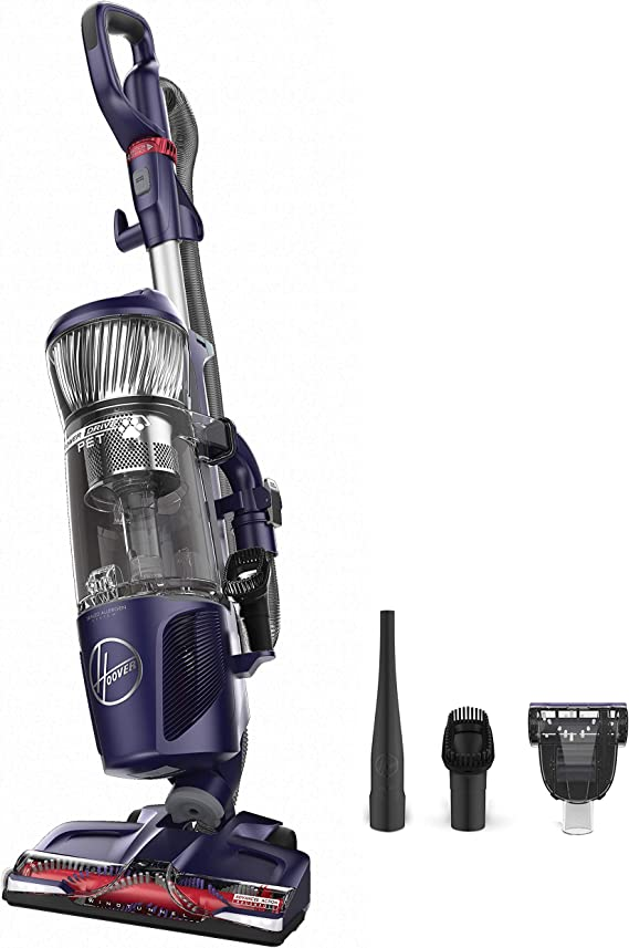 Hoover Power Drive Bagless Multi Floor Upright Vacuum Cleaner with Swivel Steering
