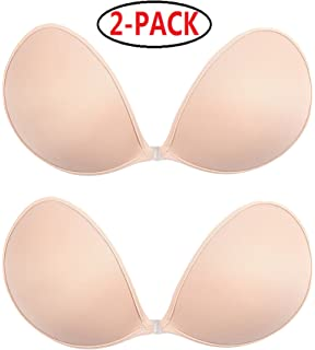 2b92a8d761749 Welltogther Womens Drawstring Adhesive Push up Bra Reusable Backless ...
