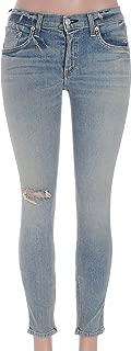 product image for Rag & Bone Womens Zipper Capri Skinny Jeans Size 27 in Water St