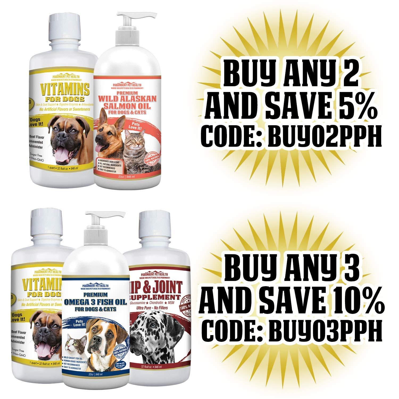 Amazon.com: Multivitamina líquida premium para perros ...