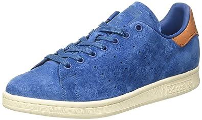 new arrivals 7e272 ba0a0 adidas Originals Stan Smith, Baskets Mode Mixte Adulte, Bleu (Core Blue Core