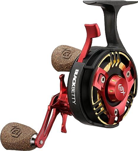 13 Fishing 2020 Black Betty FreeFall TRICK SHOP Inline Ice fishing Reel