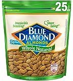 Blue Diamond Almonds, Whole Natural, 25 Ounce