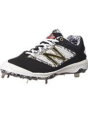 New Balance Mens L4040V3 Cleat Baseball Shoe