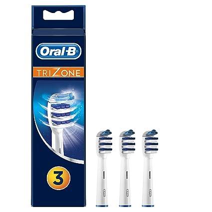 Oral-B TriZone Cabezal de Recambio Para Cepillo de Dientes Eléctrico 3  Unidades 98ef044fe9c9