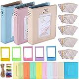 Neewer 23-in-1 Kit di Accessori Cornici Portafoto e Adesivi per Fujifilm Mini Instax 7 7s 70 8 8+/9 25 90 & 50s