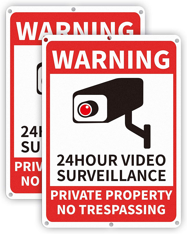 DesGullyPrivate Property No Trespassing Sign , 7