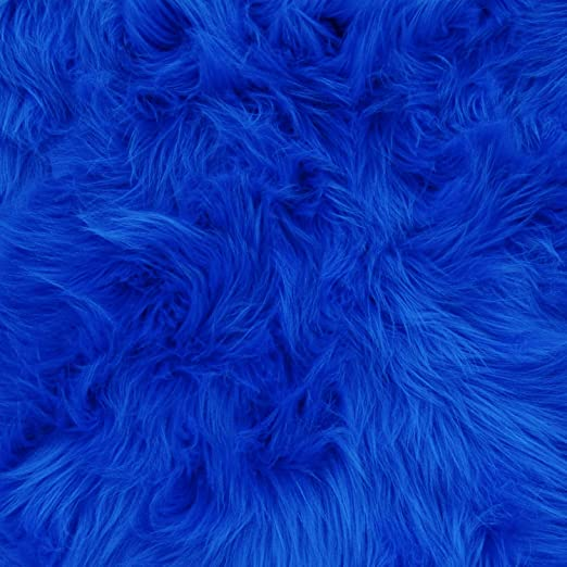FauxFake Fur 60 Wide Colorful Sold by The Yard Luxury Shag
