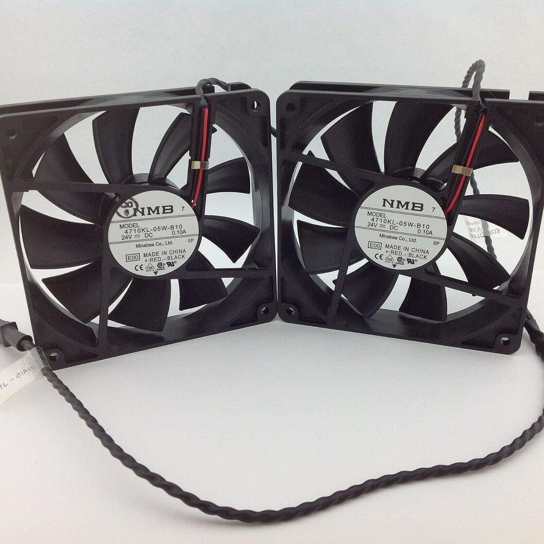 NMB 4710KL-05W-B10-E00 Axialventilator 119 x 25,5 mm 24 VDC
