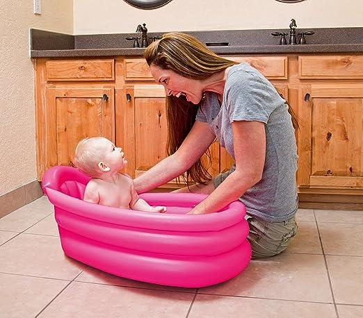 2 opinioni per 51113 Vaschetta per bagnetto gonfiabile per bambini Bestway 2 colori 79x51x33