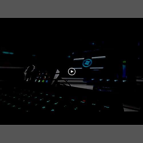 53f1d1ecc1a Saitek Mad Catz STRIKE7 Modular RGB Backlit Gaming Keyboard with  Customizable Metal Frame, 24 Programmable