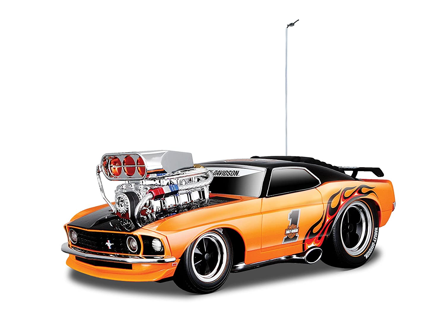 Buy Maisto 1969 Ford Mustang Boss 302 Muscle Machines Orange Black Online At Low Prices In India