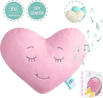 Jouet de sommeil,agr/éable cadeau bo/îte MyDreamy,hummy avec capteur de sommeil peluche pour b/éb/és,enfants,nouveau-n/és|5 diff/érentes sons de bruit blanc d/étend sommeil